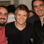 Eu, Michel e John Kip!