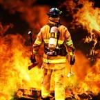 Ondas sonoras contra incêndios.