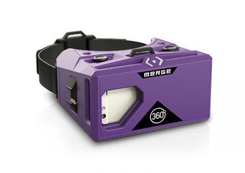 Compatible with any iOS or Android smartphone from the last two years, the affordable Merge VR Goggles are available for preorder through GAME for only Pounds Sterling49. Learn more at www.MergeVR.com (PRNewsFoto/Merge VR)