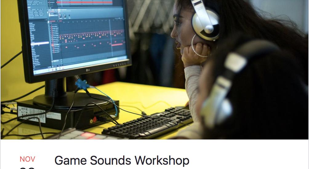 Workshop – Game Audio – Parallelwelten – Som na Caixa!